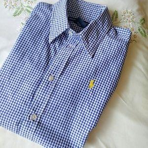 Ralph Lauren Sport  button down Shirt Size  8